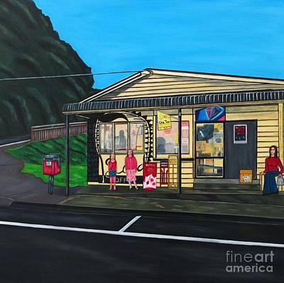 Painting - Little Oneroa Store by Sandra Marie Adams