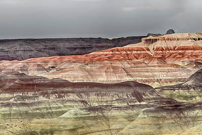 Photograph - Little Painted Desert 1 by Robert Woodward