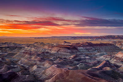Triassic Photograph - Little Painted Desert #11 by Jon Manjeot