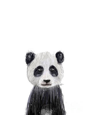 Painting - Little Panda by Bleu Bri