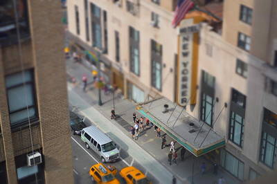 Photograph - Little People, Big City by Claudia Heidelberger