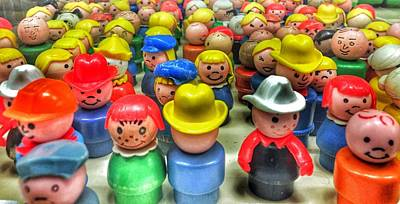 Photograph - Little People by Jame Hayes