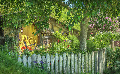 Little Picket Fence Art Print