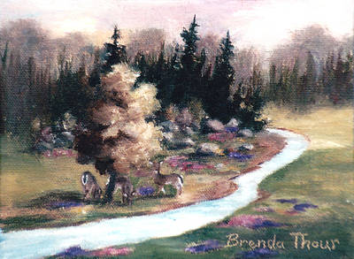 Painting - Little Piece Of Heaven by Brenda Thour