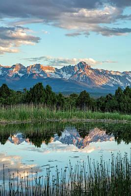 Photograph - Little Pond Reflection by Denise Bush