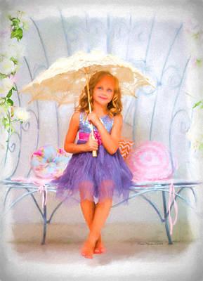 Manipulation Photograph - Little Princess by EricaMaxine  Price