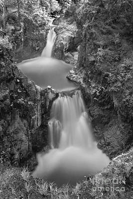 Photograph - Little Qualicum Falls by Inge Riis McDonald