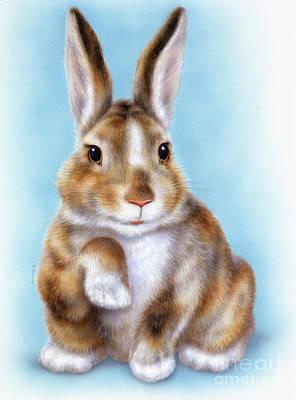 Little Rabbit 2 Art Print