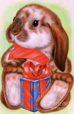 Little Rabbit #3 Art Print