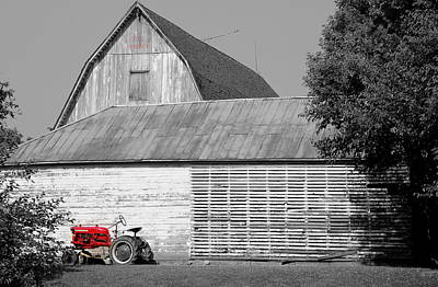 Photograph - Little Red Corvette by Ed Smith