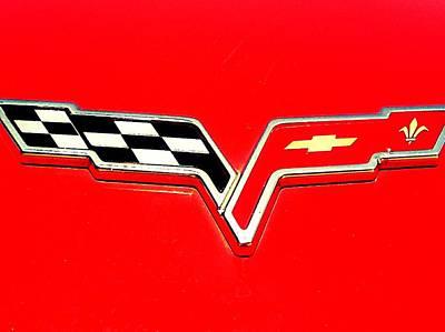 Little Red Corvette Art Print by Kevin D Davis