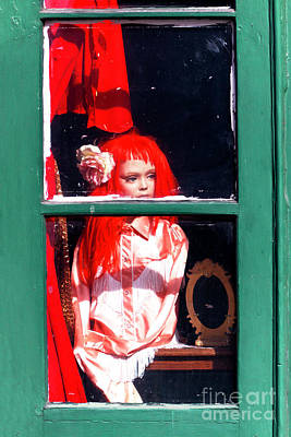 Photograph - Little Red-haired Girl In New Orleans by John Rizzuto