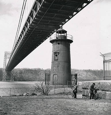 Photograph - Little Red Lighthouse, 1961 by Cole Thompson