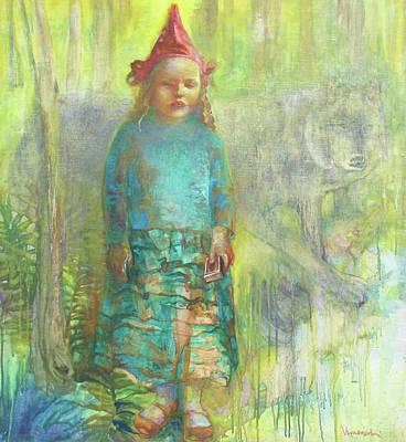Little Red Riding Hood Art Print by Tanya Ilyakhova