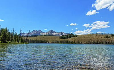 Photograph - Little Redfish Lake by Robert Bales