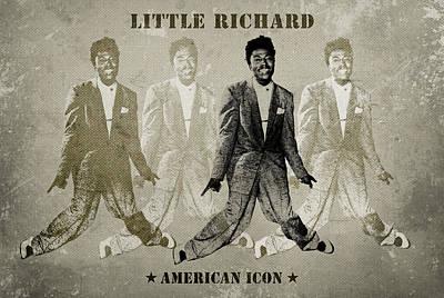Rhythm And Blues Digital Art - Little Richard by David Richardson