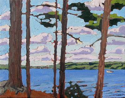 Keeper Painting - Little Rideau Lake by Phil Chadwick