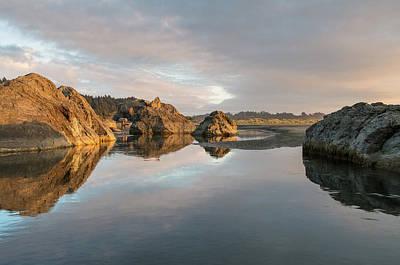 Photograph - Little River Autumn Dusk by Greg Nyquist