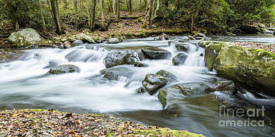 Photograph - Little River Cascade by Patrick Shupert