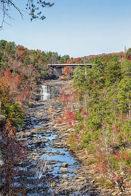 Photograph - Little River Falls by John M Bailey