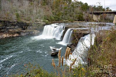 Photograph - Little River Falls by Ken Johnson