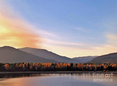 Photograph - Little River In The Fall 2 by Victor K