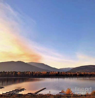 Photograph - Little River In The Fall by Victor K
