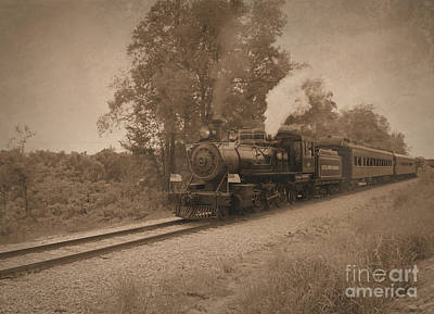 Photograph - Little River Railroad by Charles Owens