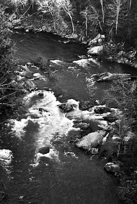 Photograph - Little River Rapids by George Taylor