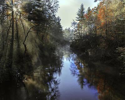 Little River Sunrise Art Print