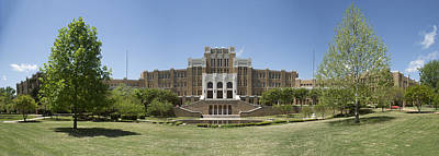 Historic Site Photograph - Little Rock Central High Panoramic by Stephen Stookey
