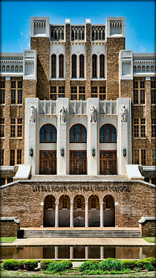 Little Rock Central High School Art Print by Stephen Stookey