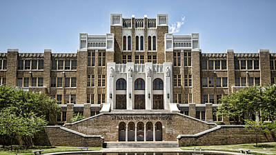 Arkansas Photograph - Little Rock Central High by Stephen Stookey