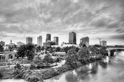 Photograph - Little Rock In Black And White by JC Findley
