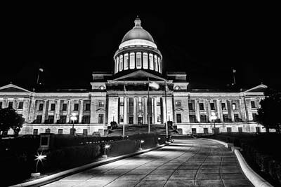 Photograph - Little Rock State Capitol Building by JC Findley
