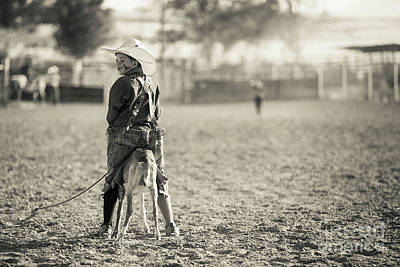 Photograph - Little Rodeo Clown by Diane Diederich