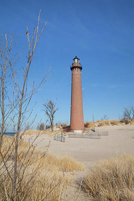 Photograph - Little Sable Point Lighthouse by Fran Riley