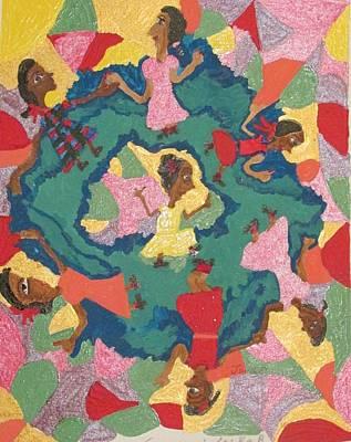 Painting - Little Sally Walker by Joan Dance
