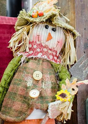 Scarecrow Photograph - Little Scarecrow by Joshua Spiegler