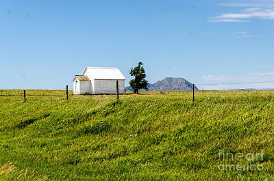 Photograph - Little School On The Prairie  by Mary Carol Story