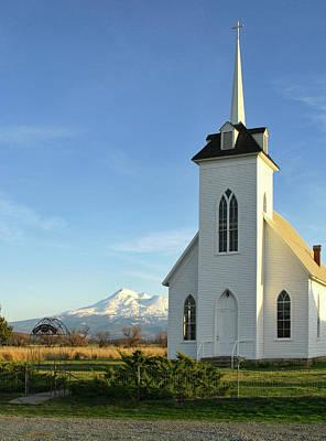 Jim Nelson Photograph - Little Shasta Church by Jim Nelson