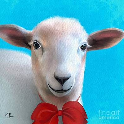 Painting - Little Sheep by Tammy Lee Bradley