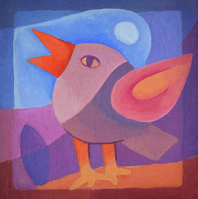 Painting - Little Singbird by Lutz Baar