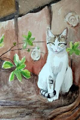 Painting - Little Singer by Mimi Boothby
