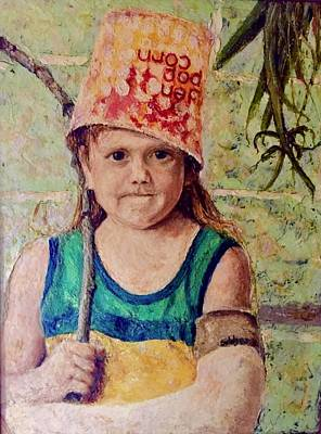 Tom Boy Painting - Little Soldier, Determination by Jerry Bridges