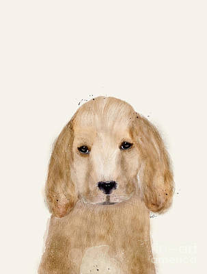 Dog Art Painting - Little Spaniel by Bri B