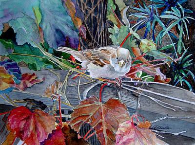Little Sparrow Art Print by Gail Chandler