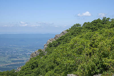 Photograph - Little Stoney Man Mountain From Stoney Man Mountain Ds0059 by Gerry Gantt