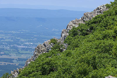 Photograph - Little Stoney Man Mountain From Stoney Man Mountain Ds0060 by Gerry Gantt