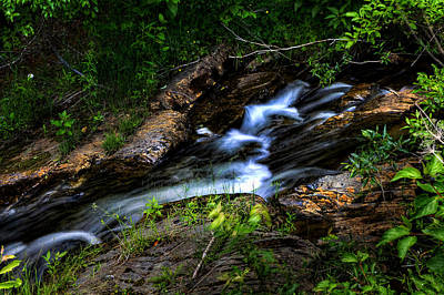 Art Print featuring the photograph Little Stream by Gary Smith